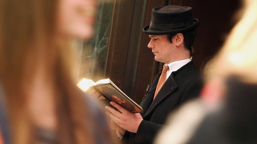 Ganz London liest Shakespeare. Foto: Ingo Brunner / Kobalt