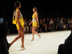 Ewa Herzog auf der Berliner Fashion Week
